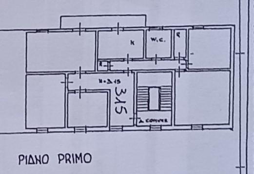 Planimetria 1/1 per rif. 2275
