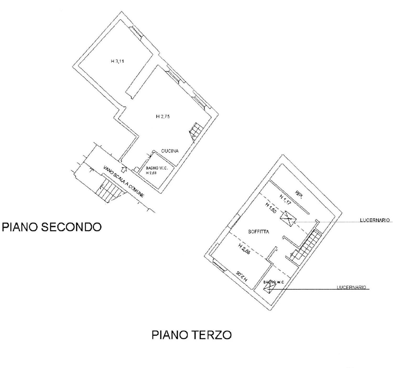 Planimetria 1/1 per rif. 2277