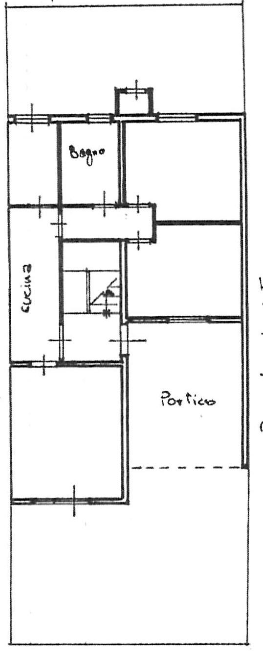 Planimetria 2/2 per rif. 2278