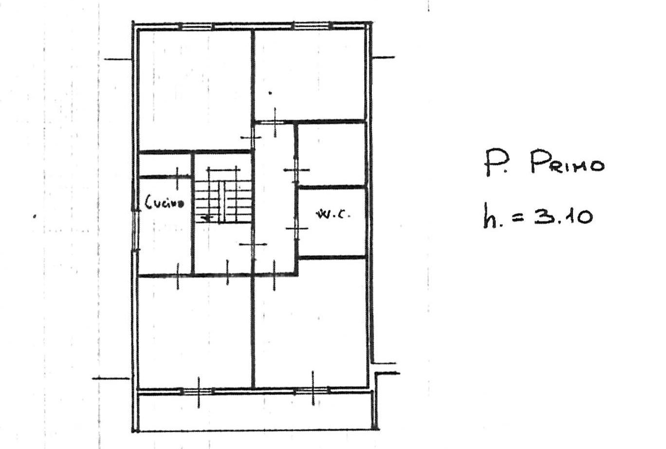Planimetria 1/2 per rif. 2278