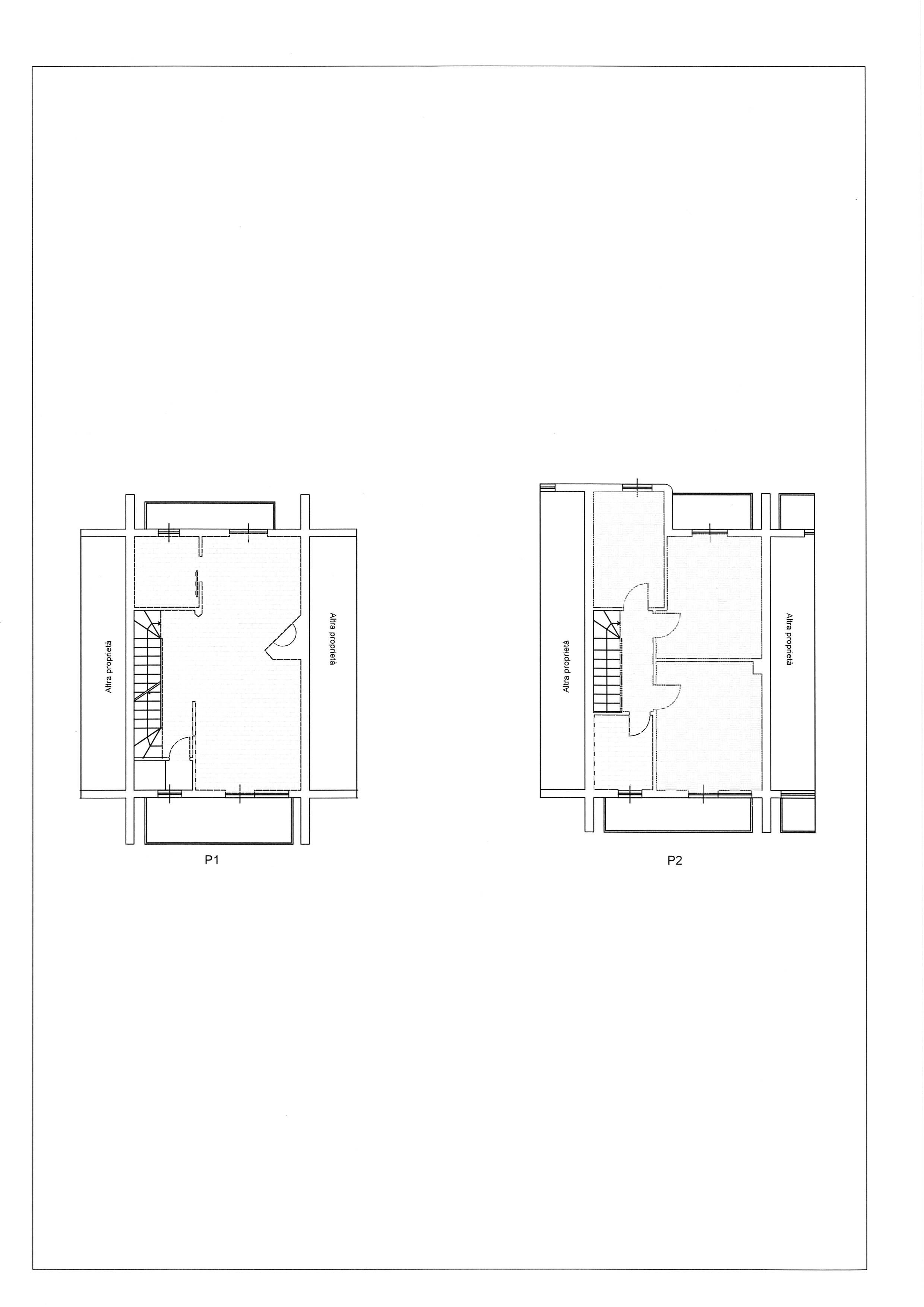 Planimetria 1/2 per rif. 2279