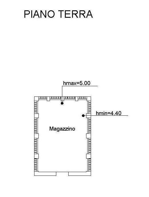Planimetria 3/3 per rif. 2282