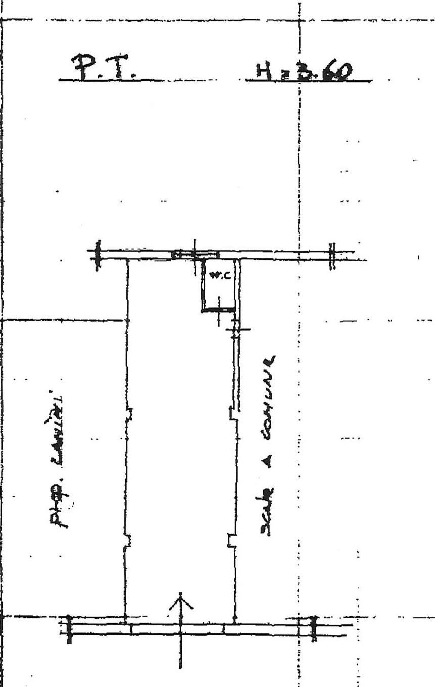 Planimetria 2/2 per rif. 2283