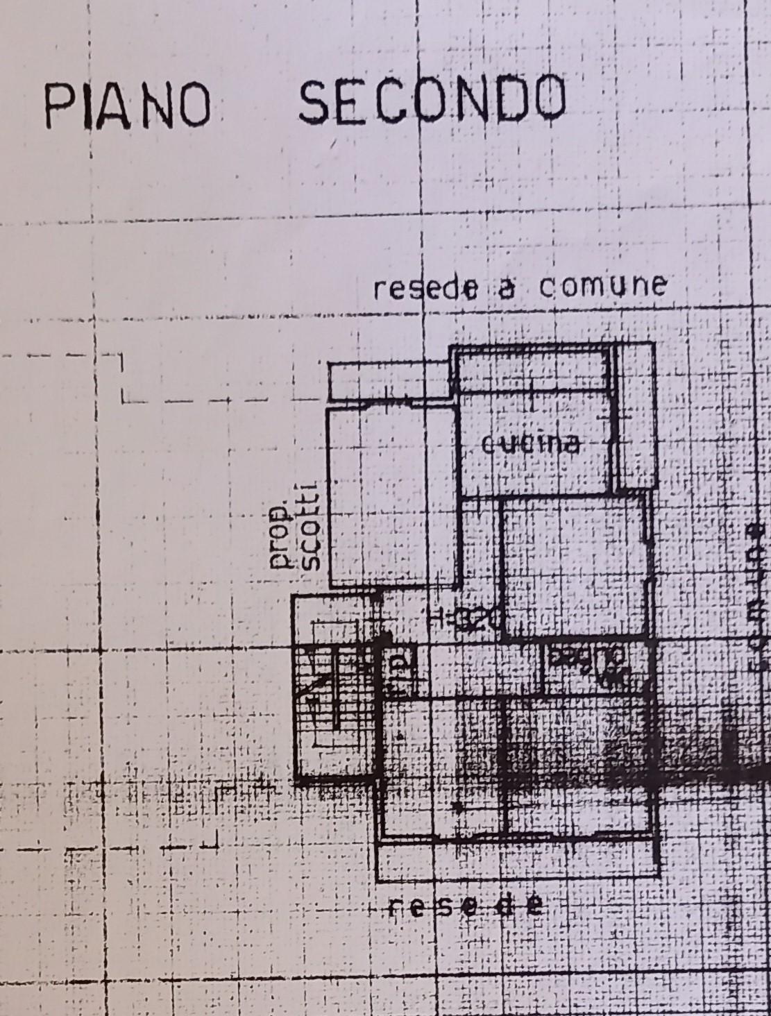 Planimetria 1/1 per rif. 2286