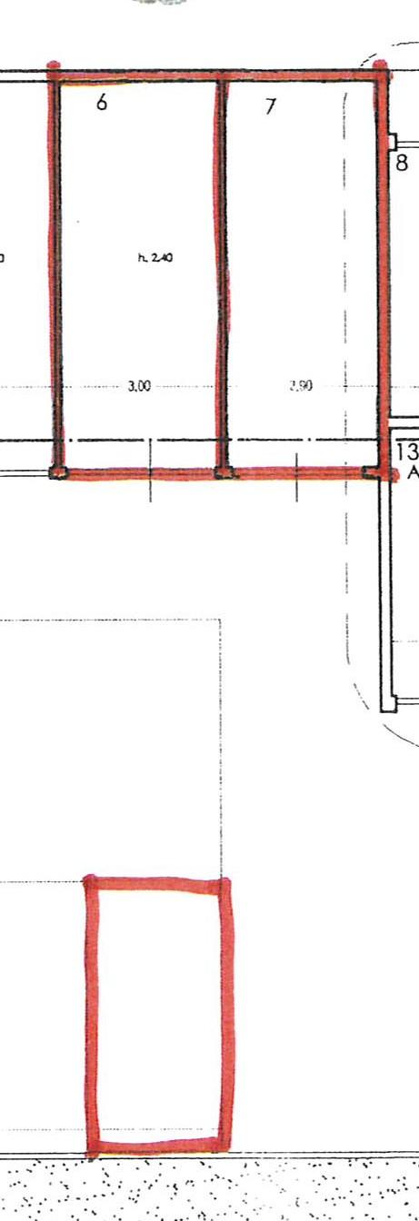 Planimetria 2/2 per rif. 2287