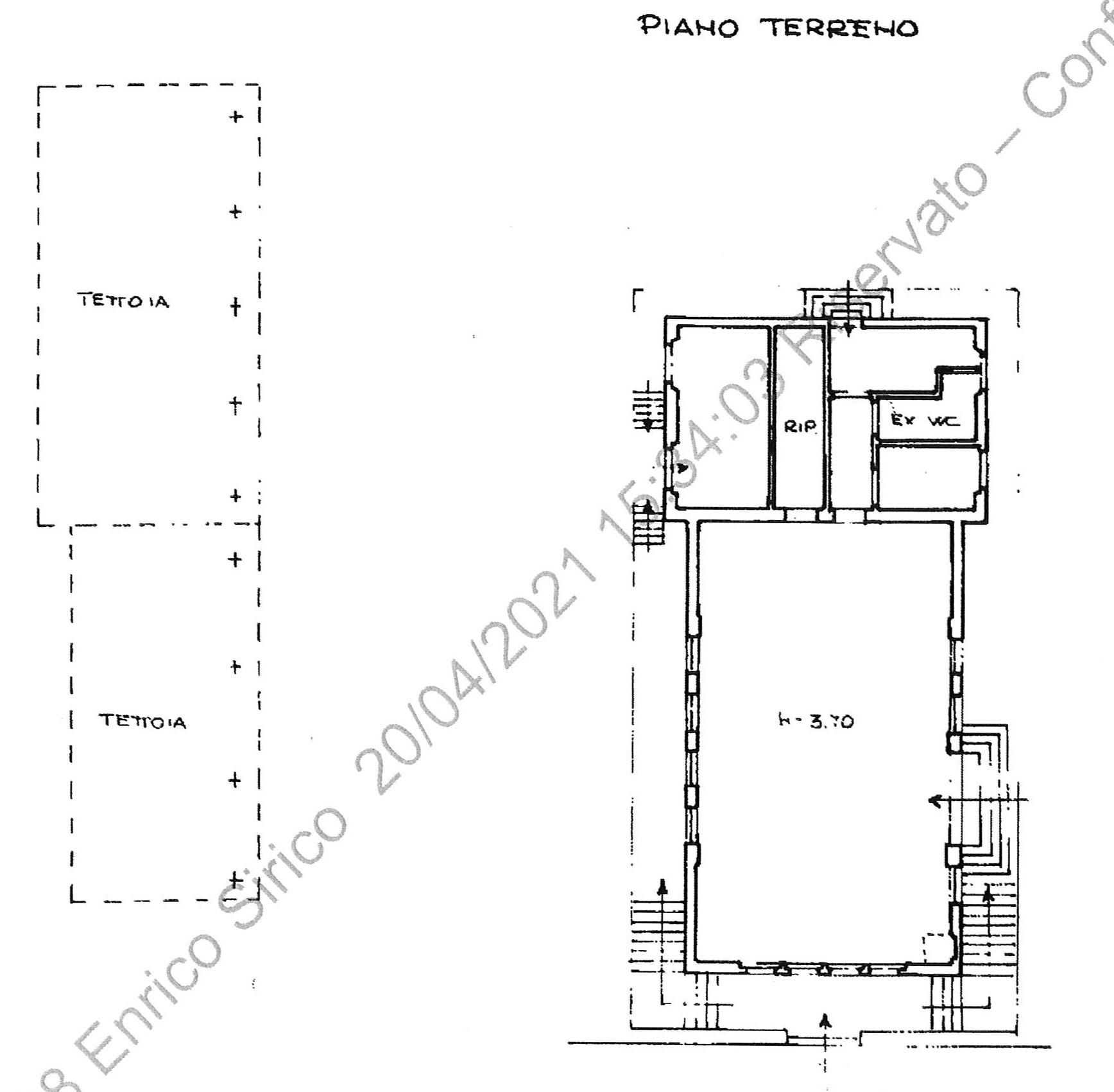 Planimetria 2/2 per rif. 2290