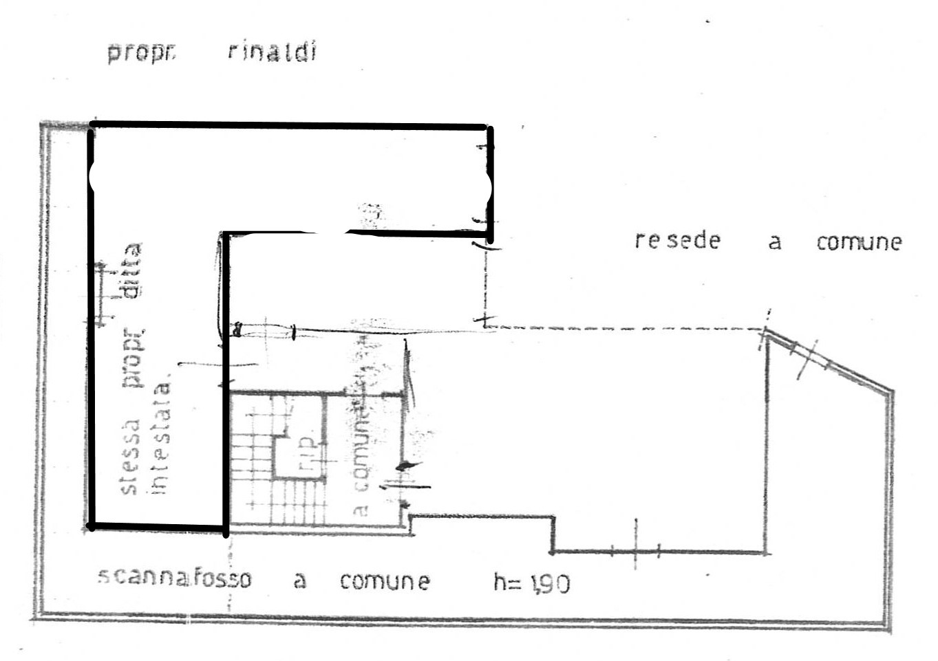 Planimetria 2/2 per rif. 2297