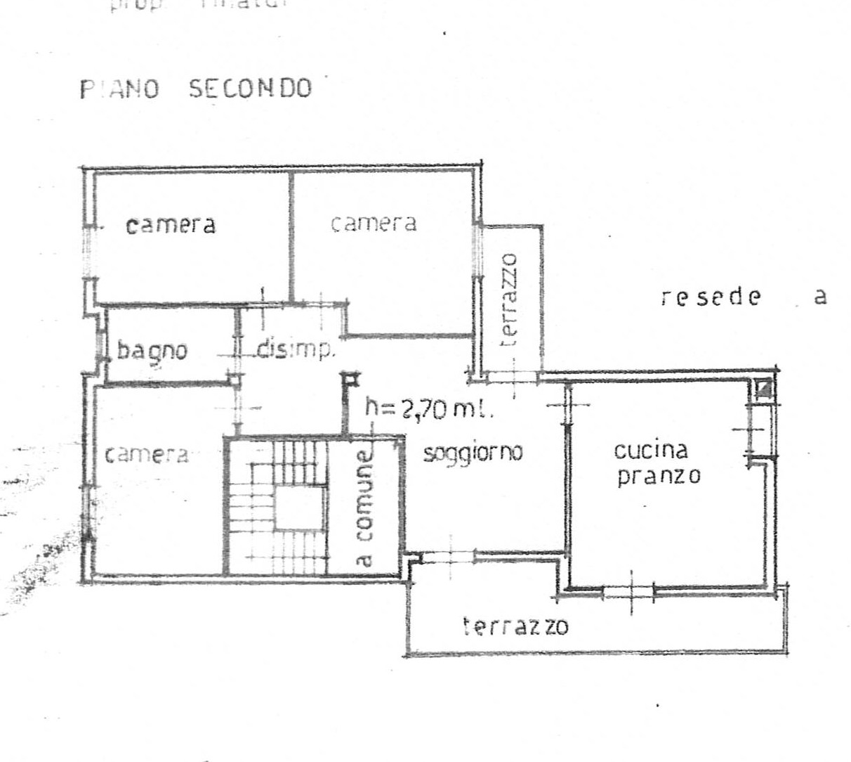 Planimetria 1/2 per rif. 2297