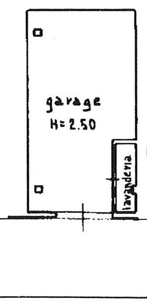 Planimetria 2/2 per rif. 2301