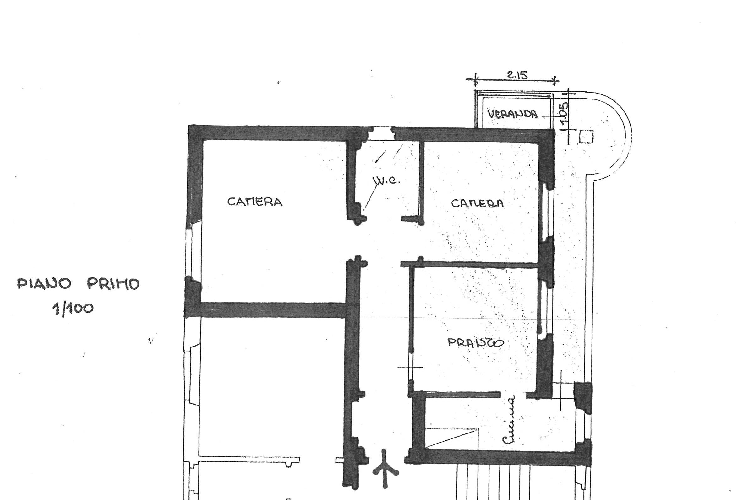 Planimetria 1/1 per rif. 2305