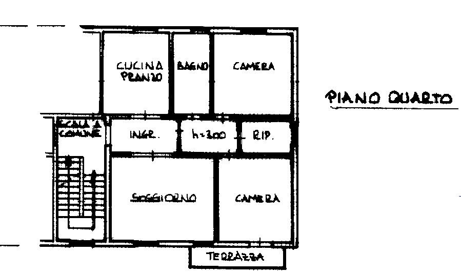 Planimetria 1/2 per rif. 2308