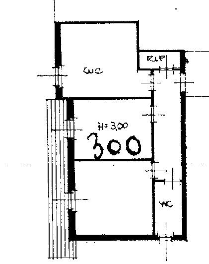 Planimetria 2/2 per rif. 2309