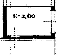 Planimetria 1/2 per rif. 2309