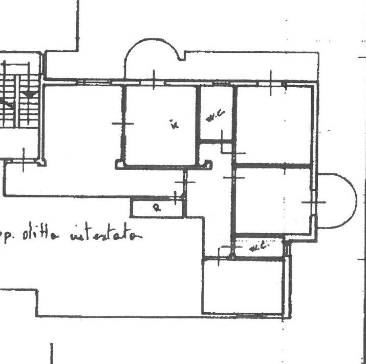 Planimetria 1/1 per rif. 2316