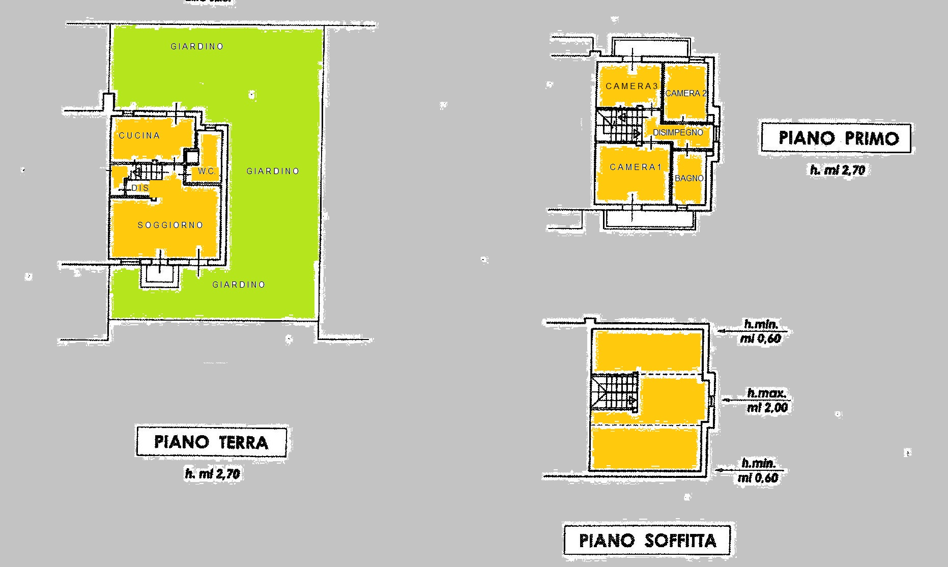 Planimetria 1/1 per rif. MA2828
