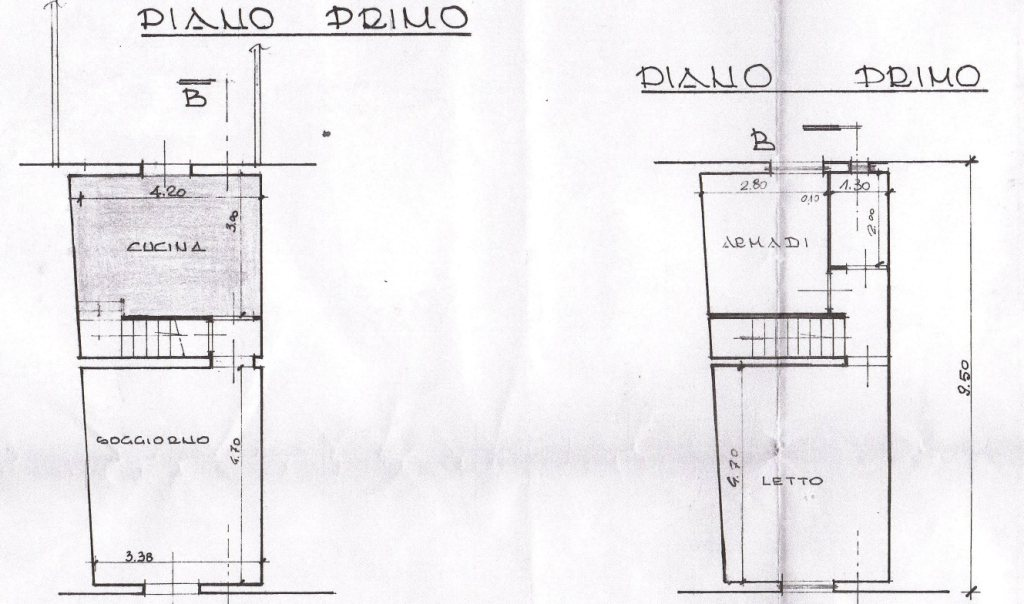 Planimetria 1/1 per rif. MA2893