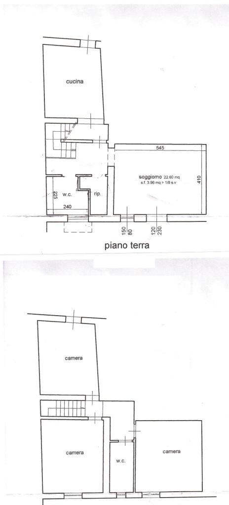 Planimetria 1/1 per rif. MA2918