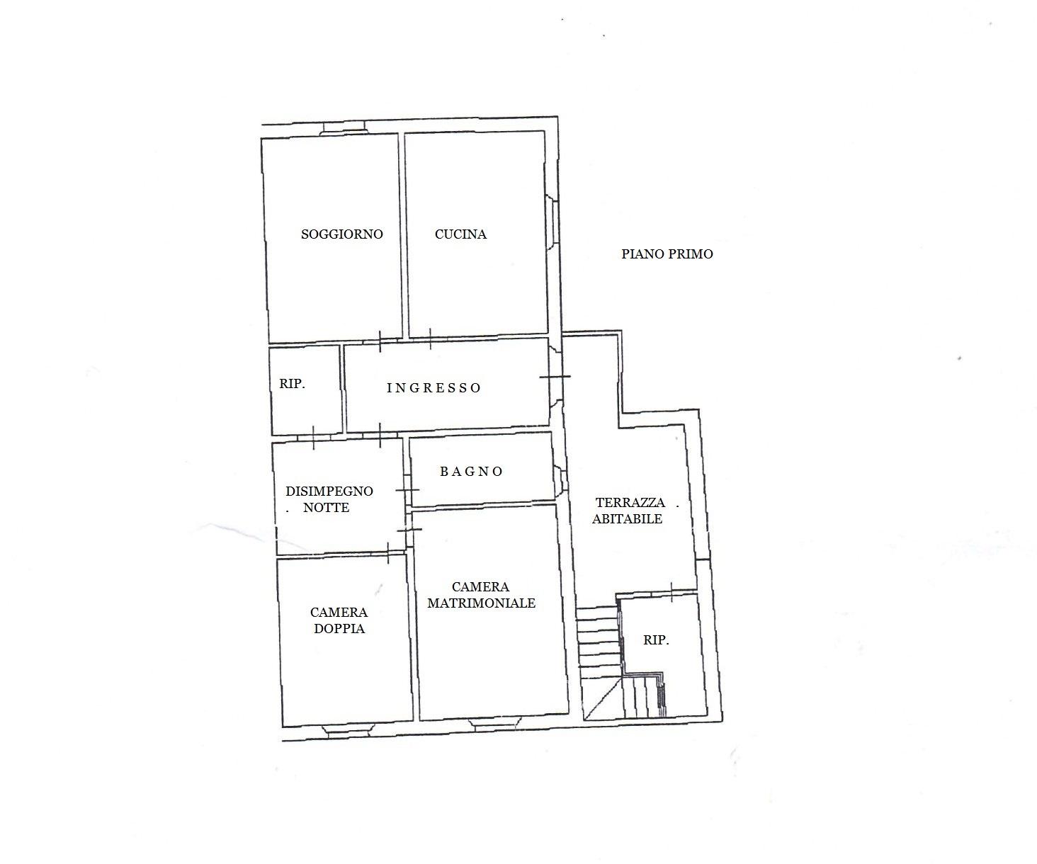 Appartamento in vendita, rif. MA3050 (Planimetria 1/1)