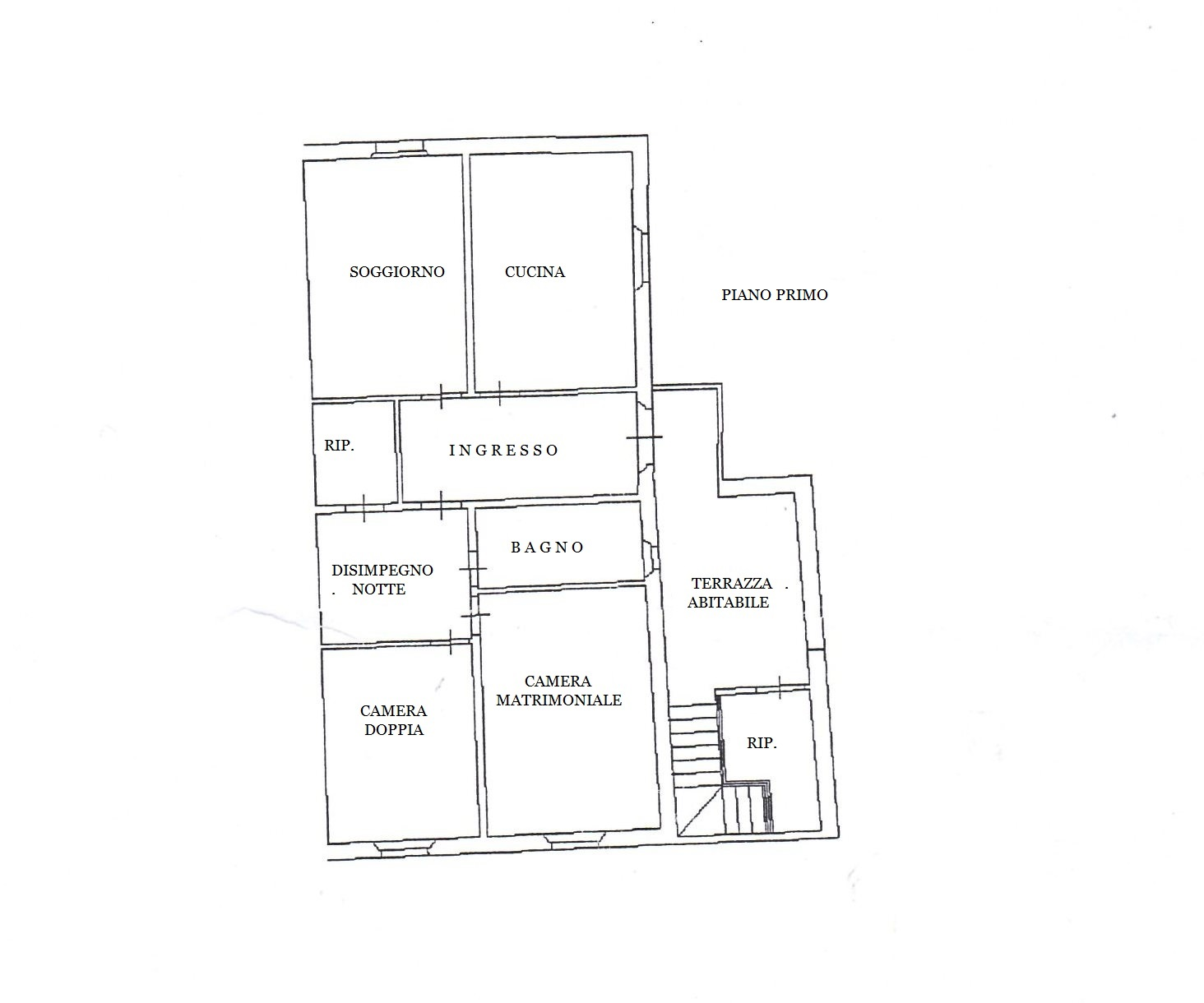 Planimetria 1/1 per rif. MA3050