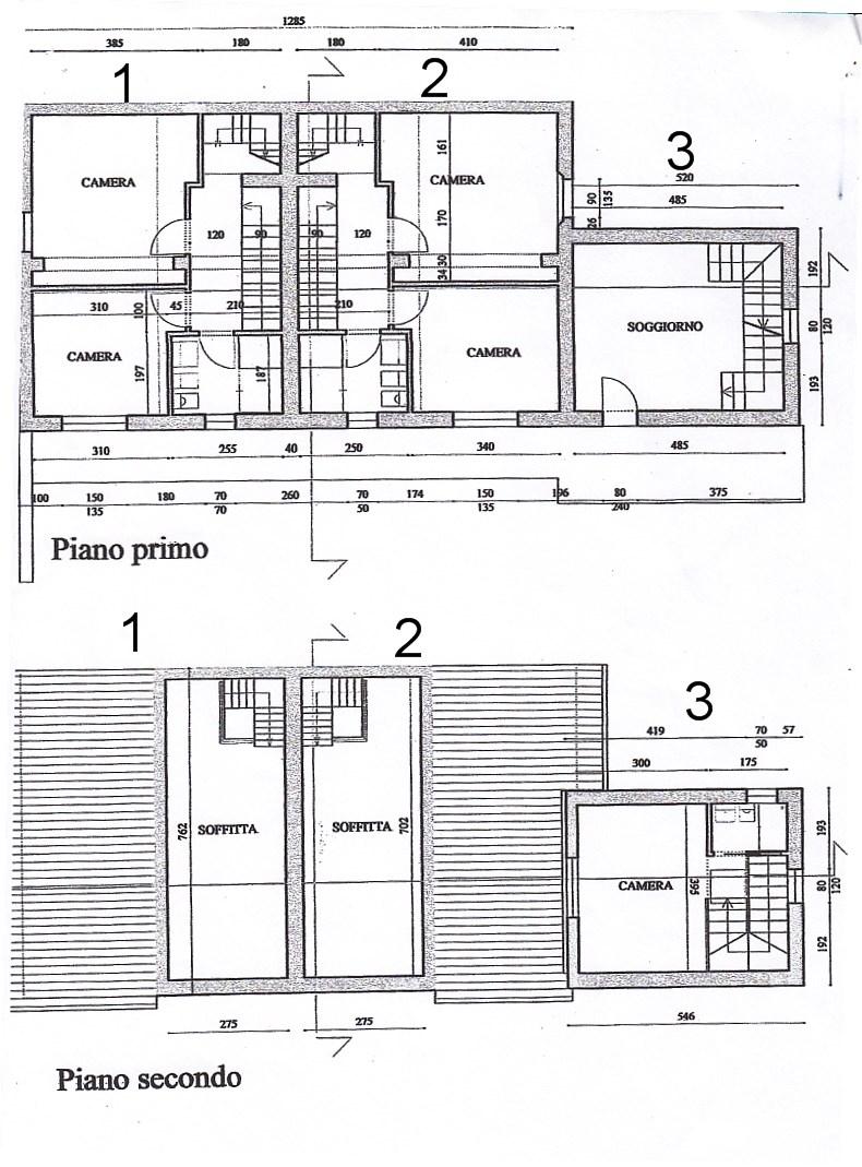 Planimetria 2/3 per rif. 754