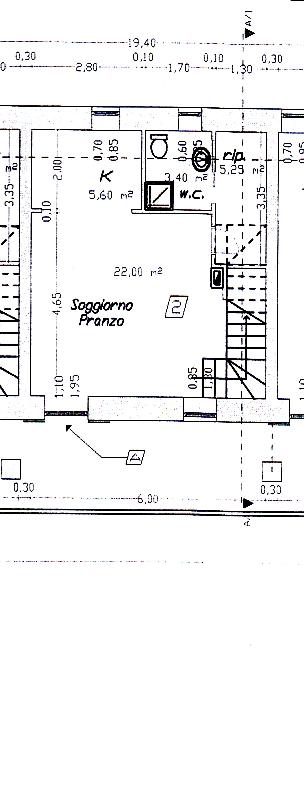 Planimetria 1/2 per rif. 778