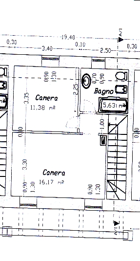 Planimetria 2/2 per rif. 778
