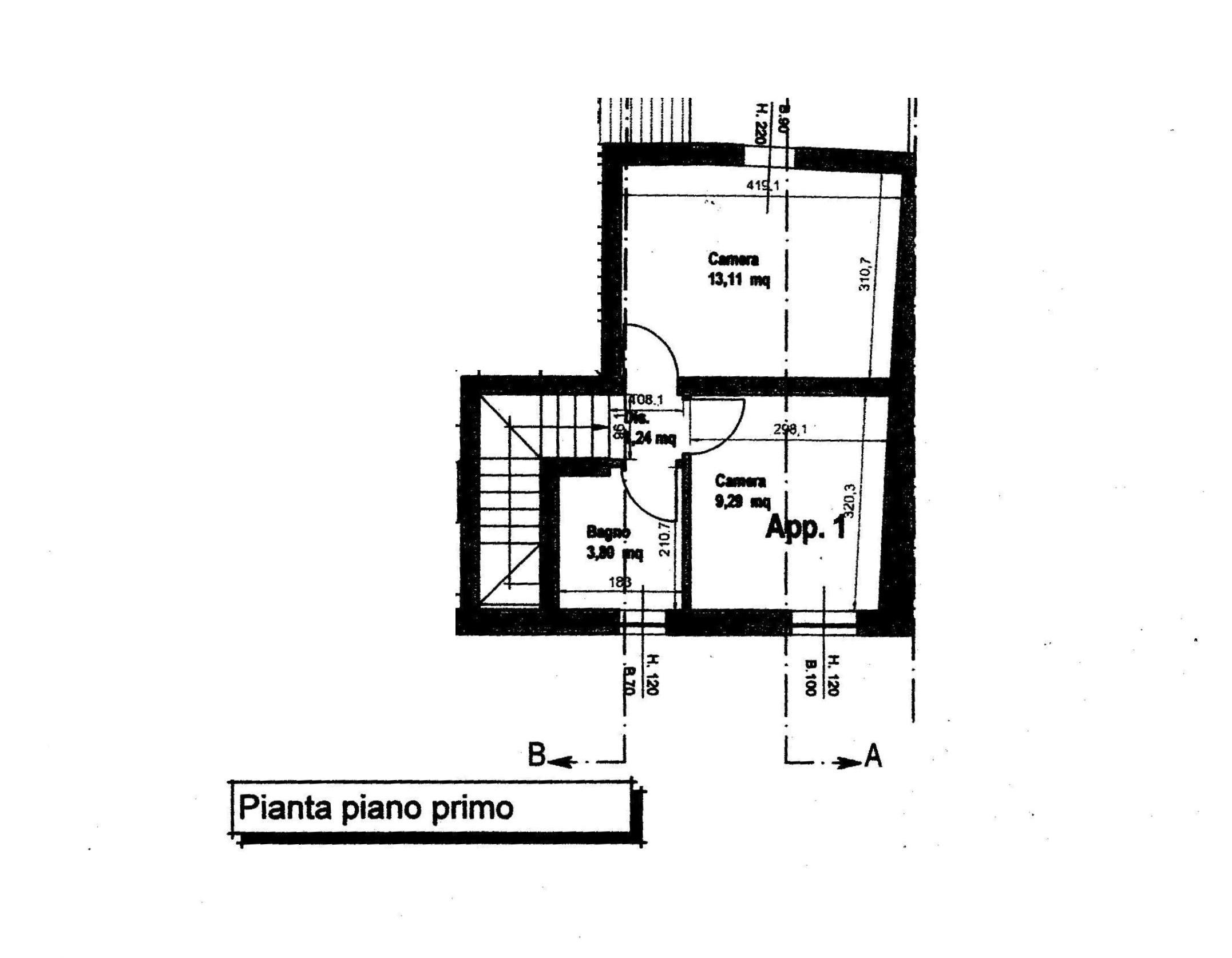 Planimetria 2/2 per rif. 793