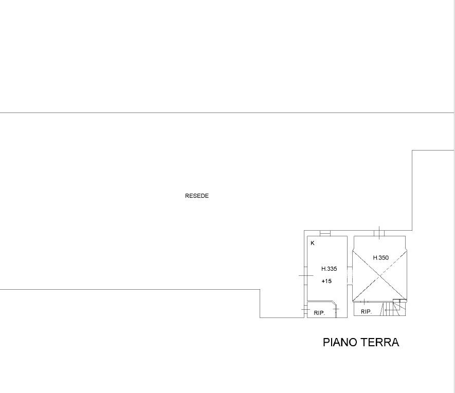 Planimetria 3/3 per rif. 1007