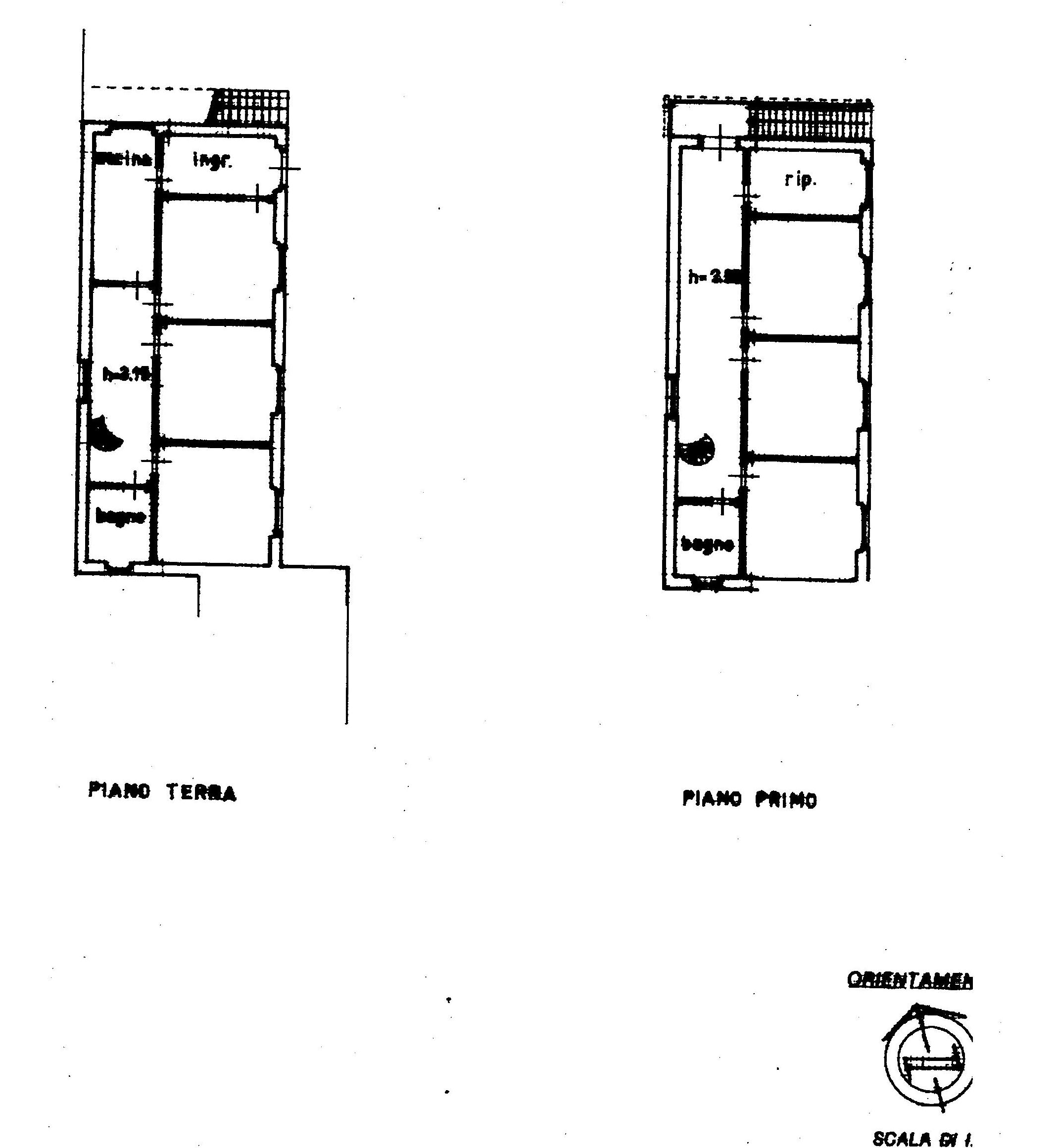 Planimetria 1/1 per rif. 1840
