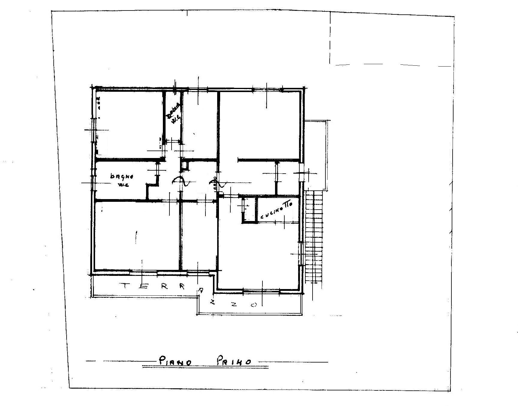 Planimetria 2/2 per rif. 1832