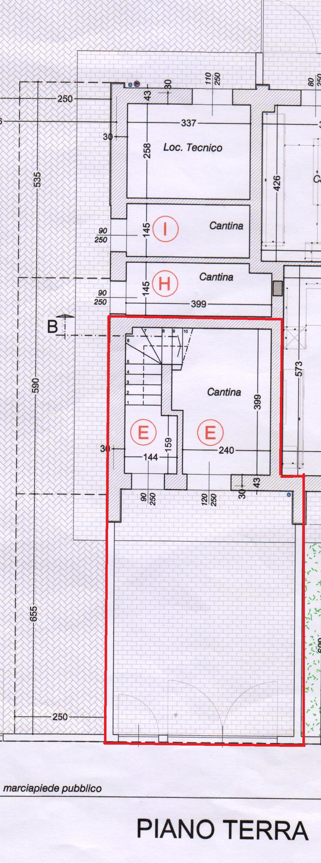 Planimetria 2/2 per rif. 502