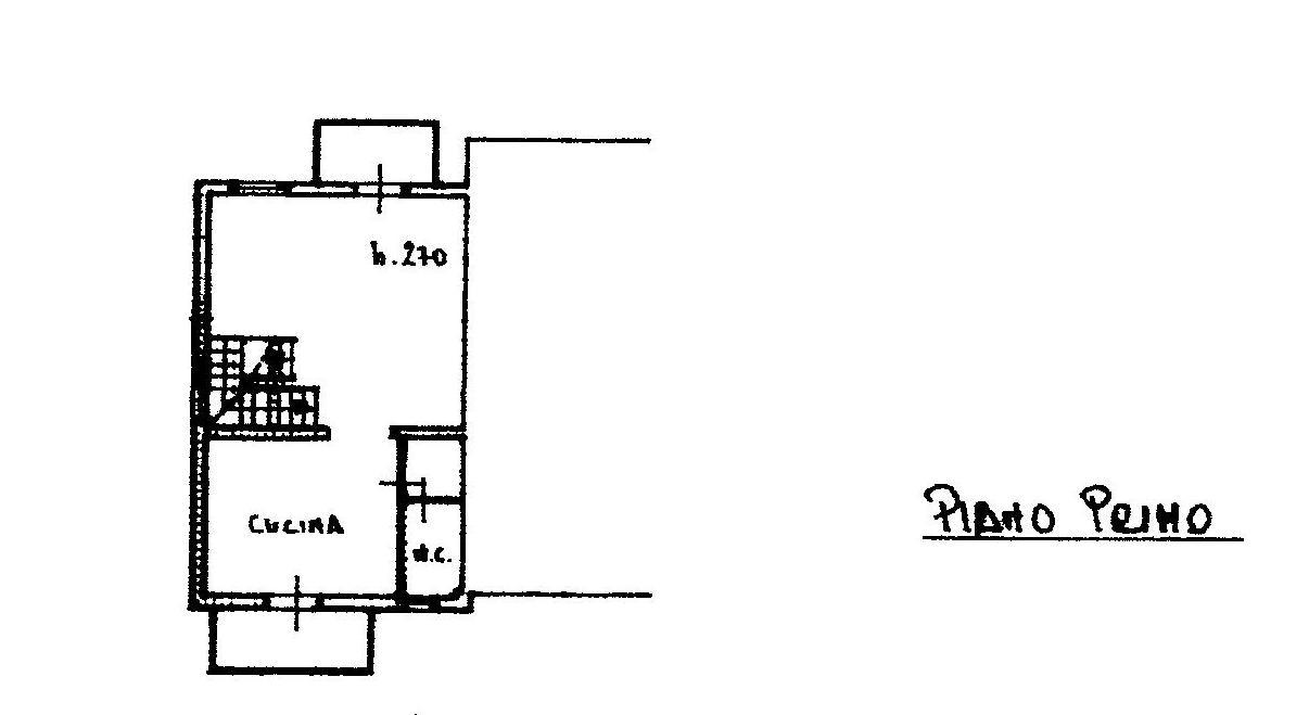 Planimetria 2/3 per rif. 1306