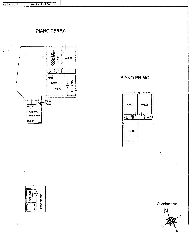 Planimetria 1/1 per rif. 774