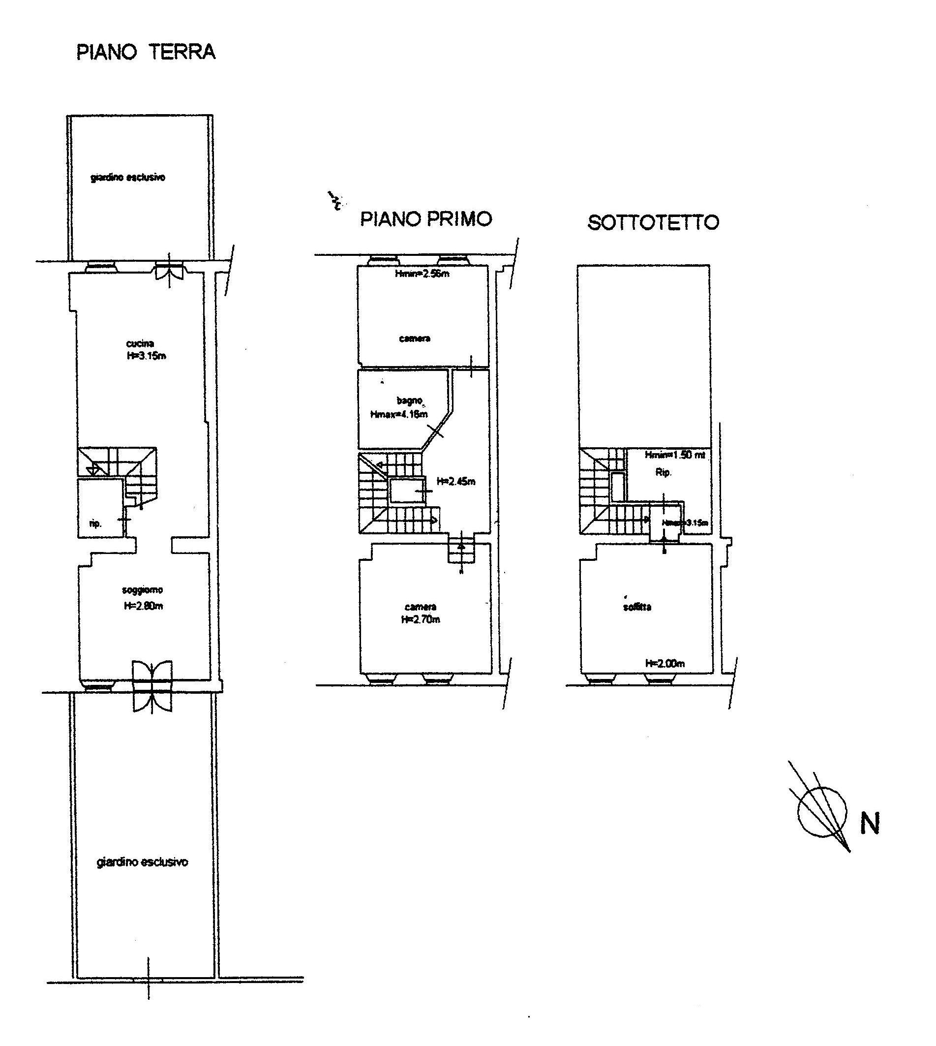 Planimetria 1/1 per rif. 1001