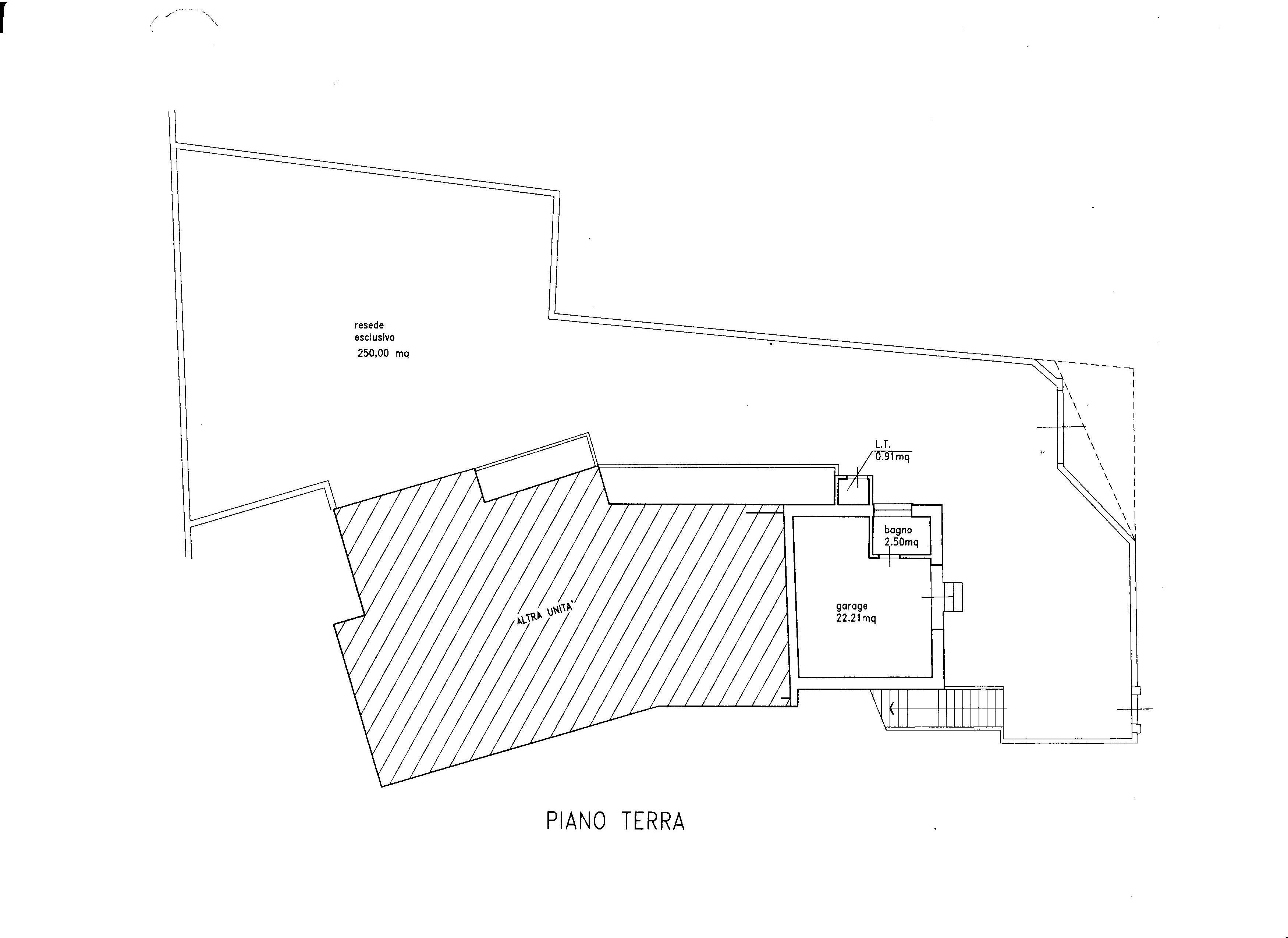 Planimetria 2/2 per rif. 1502