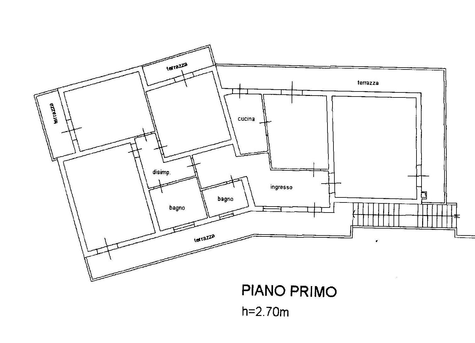 Planimetria 1/2 per rif. 1502