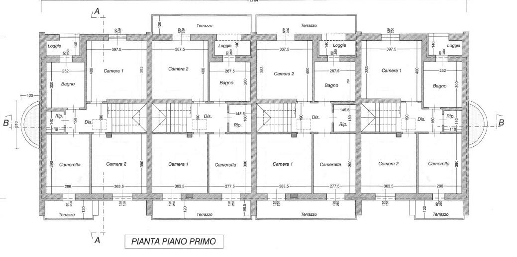 Planimetria 2/2 per rif. 1304
