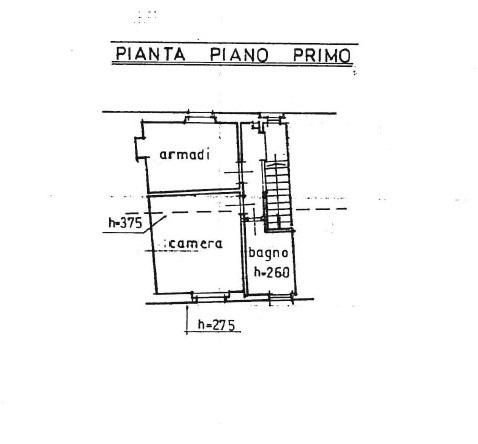 Terratetto in vendita, rif. 775 (Planimetria 2/2)