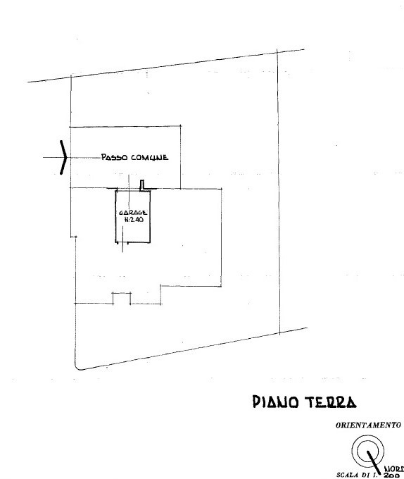 Planimetria 2/3 per rif. 503
