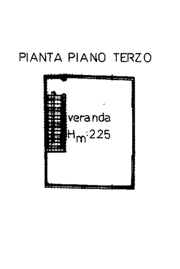 Planimetria 2/2 per rif. 313