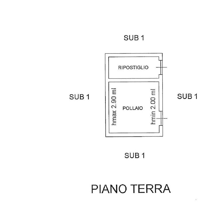 Planimetria 5/5 per rif. 1003