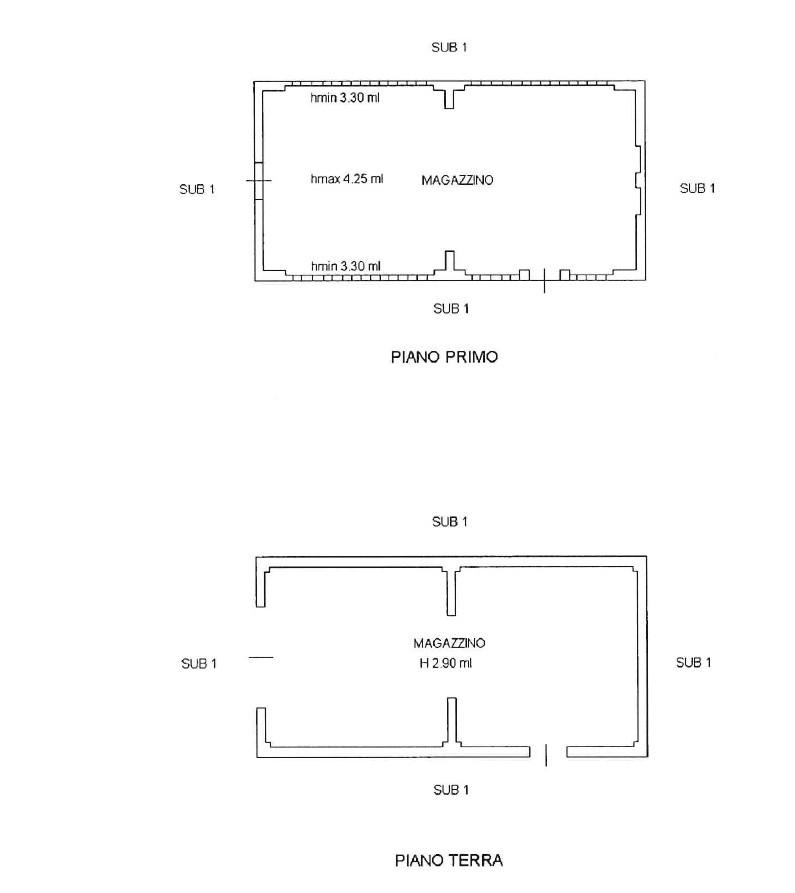 Planimetria 4/5 per rif. 1003