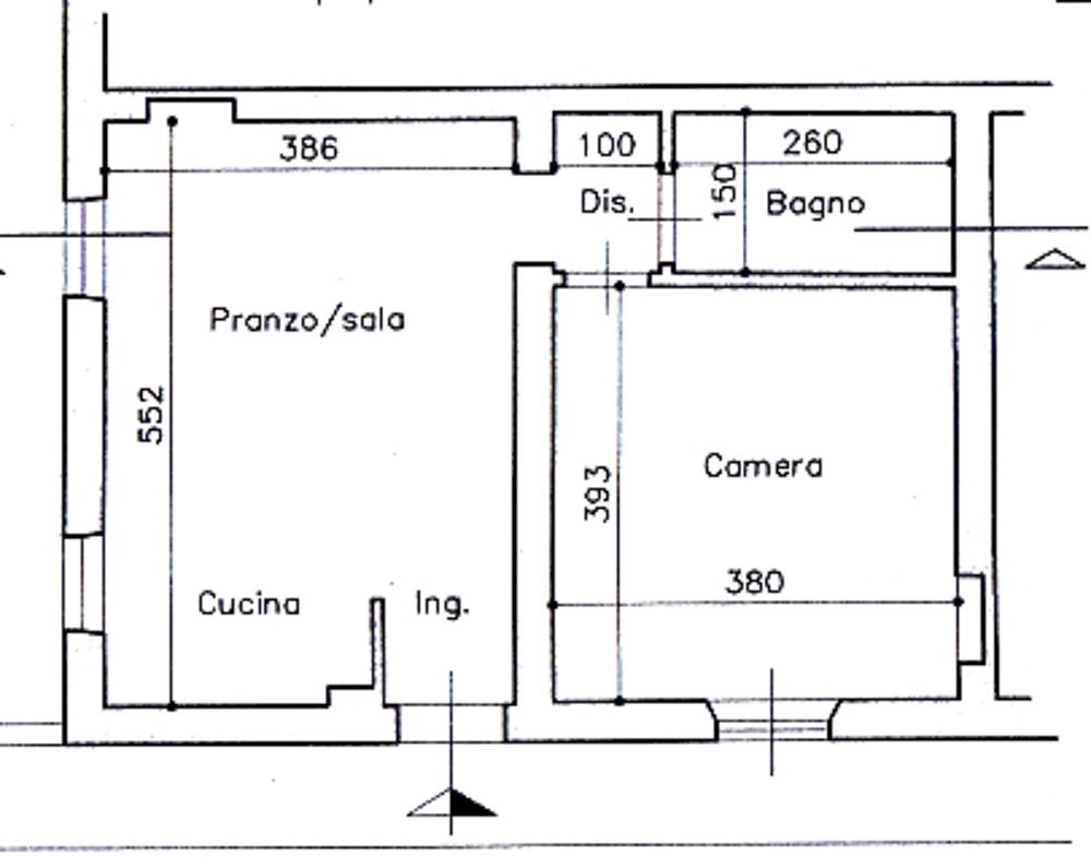 Planimetria 1/1 per rif. 2