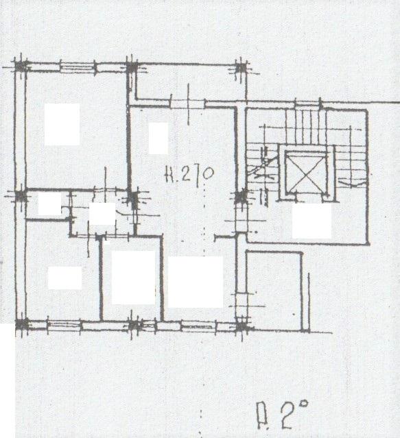 Planimetria 1/2 per rif. 312