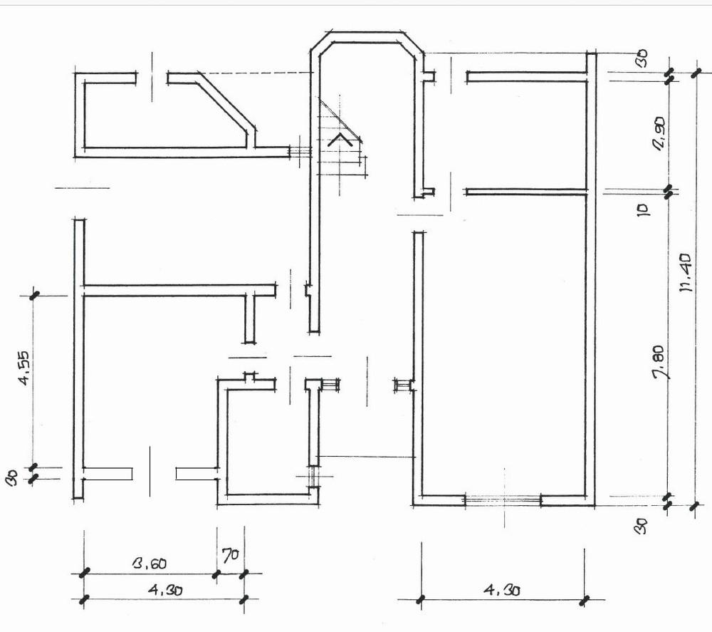 Planimetria 2/2 per rif. 1602