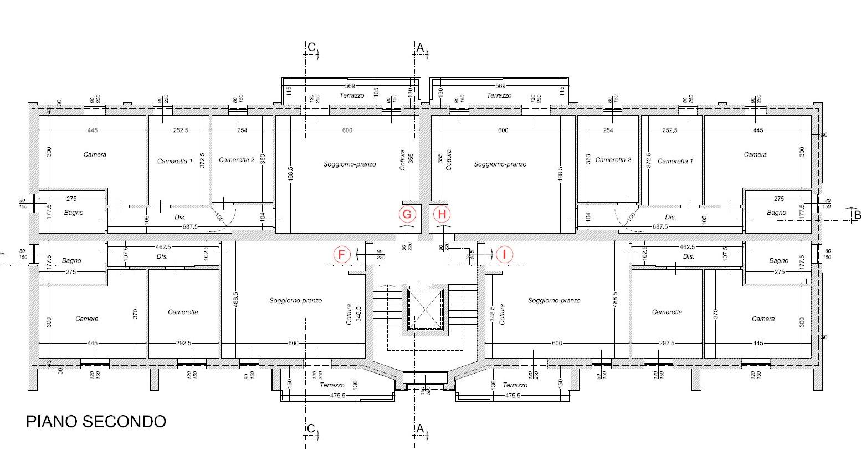 Planimetria 3/3 per rif. 309