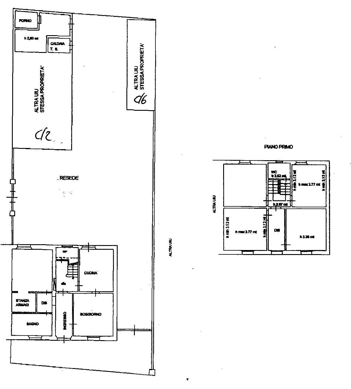 Planimetria 2/2 per rif. 764