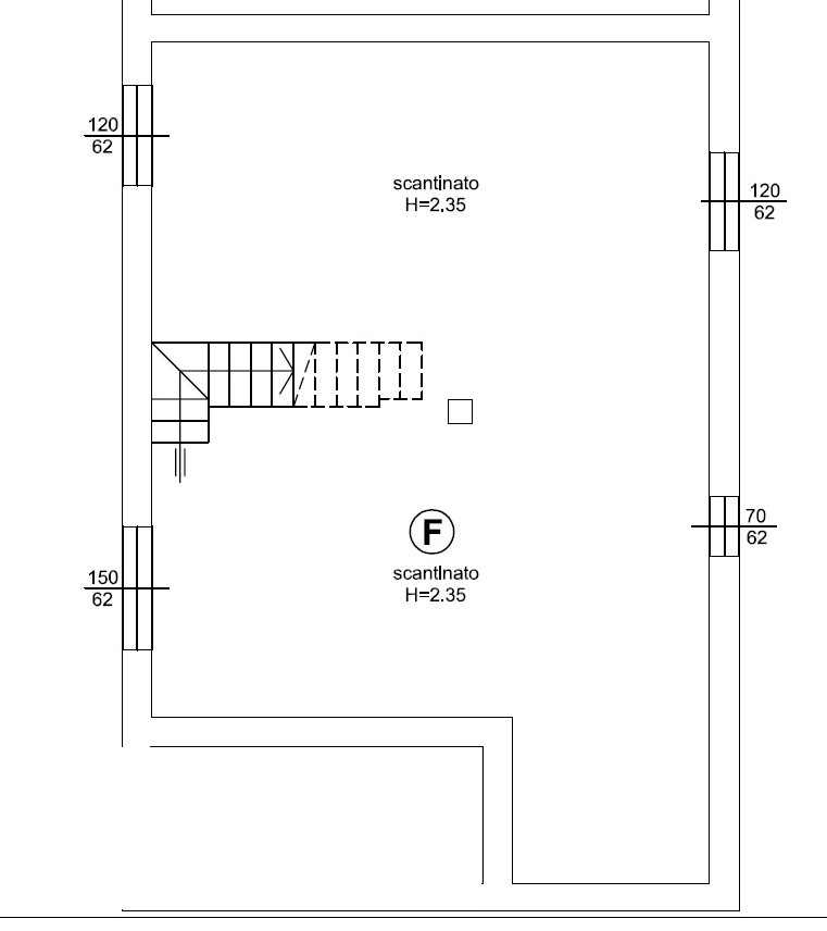 Planimetria 2/2 per rif. 1301