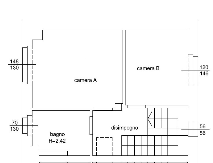 Planimetria 2/3 per rif. 1308