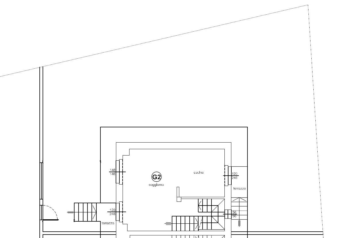 Planimetria 1/3 per rif. 1308